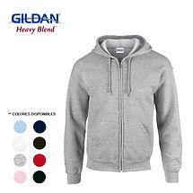 Busos perchados Gildan con capucha y cie