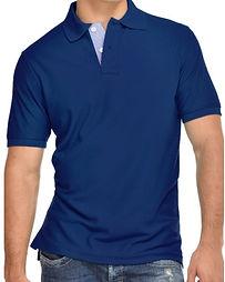 Camisetas tipo polo azul navy uniformes