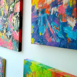 Taller de pinturas de obras de arte mede