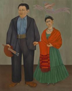 Frida y diego rivera-Copia obras arte famosas frida kahlo