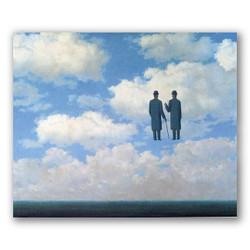 La gratitud infinita-Copia obras de arte famosas rene magritte