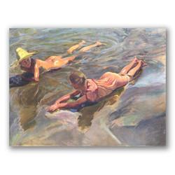 Idilio en el mar-Copia obras arte joaquin sorolla y bastida