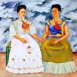 Las dos fridas-Copia obras arte famosas frida kahlo