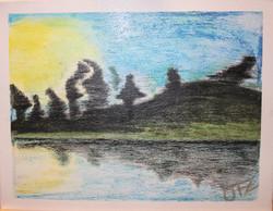 Sunset - Venta de pinturas de obras de arte