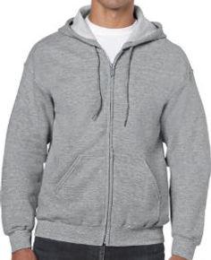 Buso perchado capucha y cierre gris jasp