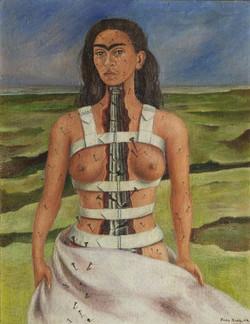 La columna rota-Copia obras arte famosas frida kahlo