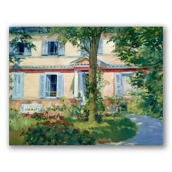 Casa en rueil-Copia obras de arte famosas edouard manet