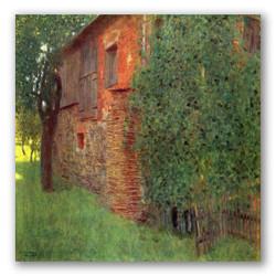 La casa en atersee-Copia obras arte gustav klimt