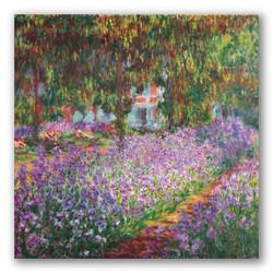 Jardin Giverny-Copia obras arte claude monet