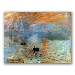 Impression Sunrise-Copia obras arte claude monet