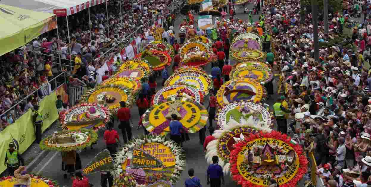 Feria de las flores silleteros