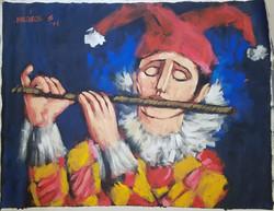 El Flautista - Obras de Arte
