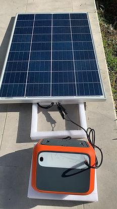 Planta electrica solar de 500W medellin
