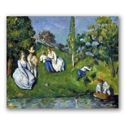 El estanque-Copia obras arte paul cezanne