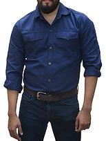 dotaciones empresariales camisa drill azul oscura medellin.jpg