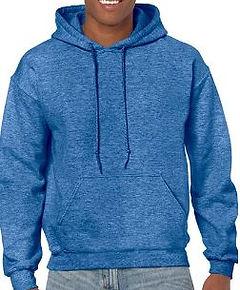 Buso perchado capucha azul real jasped g