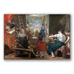La fabula de Aracne-Copia obras arte diego velazquez