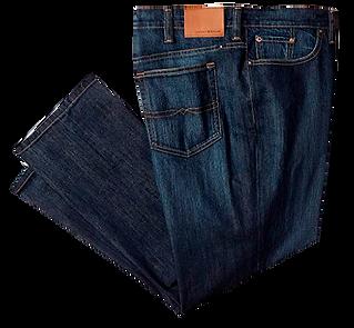 Jeans clásicos 5 bolsillos: 6 a 15 $35.000, 16 a 30 $32.000, 31 a 70 $30.000, 71 en adelante $29.000