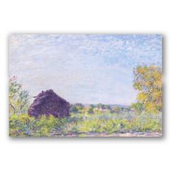 Molino de viento-Copia obras arte famosas alfred sisley