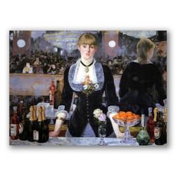El bar del folies bergere-Copia obras de arte famosas edouard manet