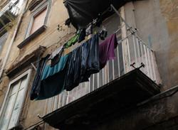 Laundry in Naples, Italy