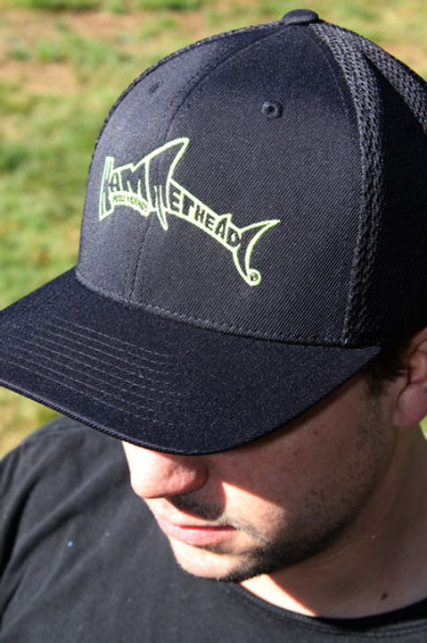 Neon Green Logo Hat