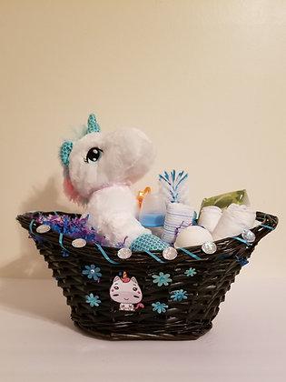 Baby Unicorn Gift Basket