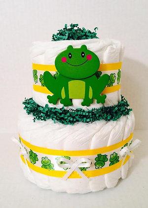 Little Frog Mini Diaper Cake.