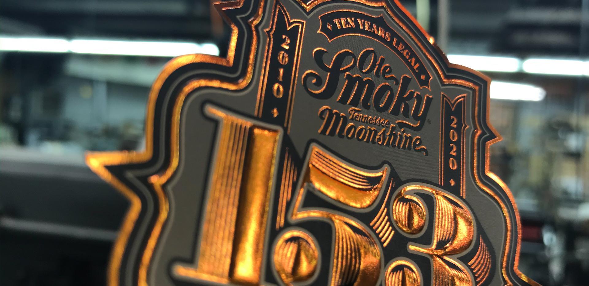 Ole Smoky 153 Label