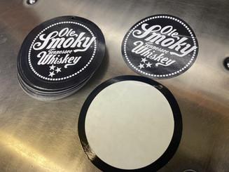 Ole Smoky Tags with Sticker