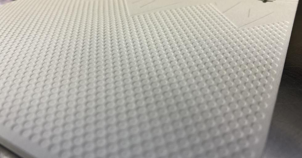 Letterpress card with Blind Deboss-2
