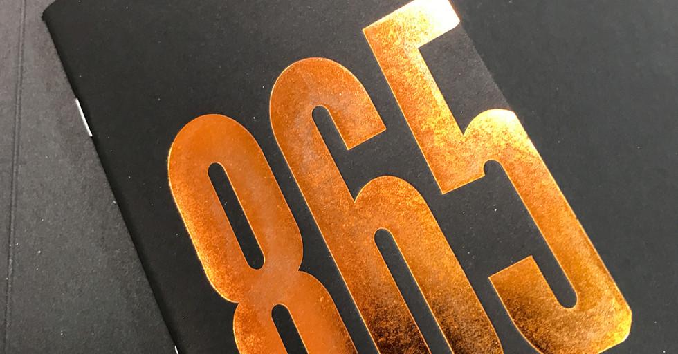 Coleman's 865 Journal