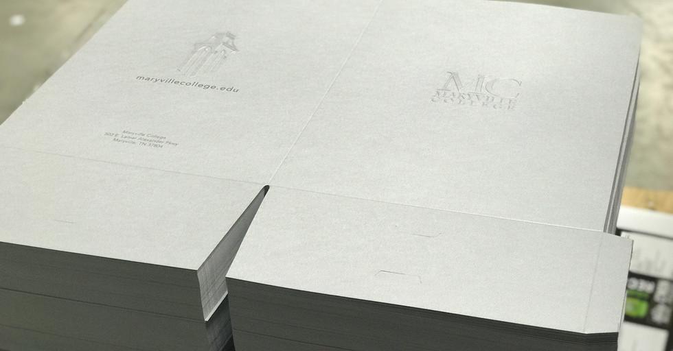 Maryville College Folders