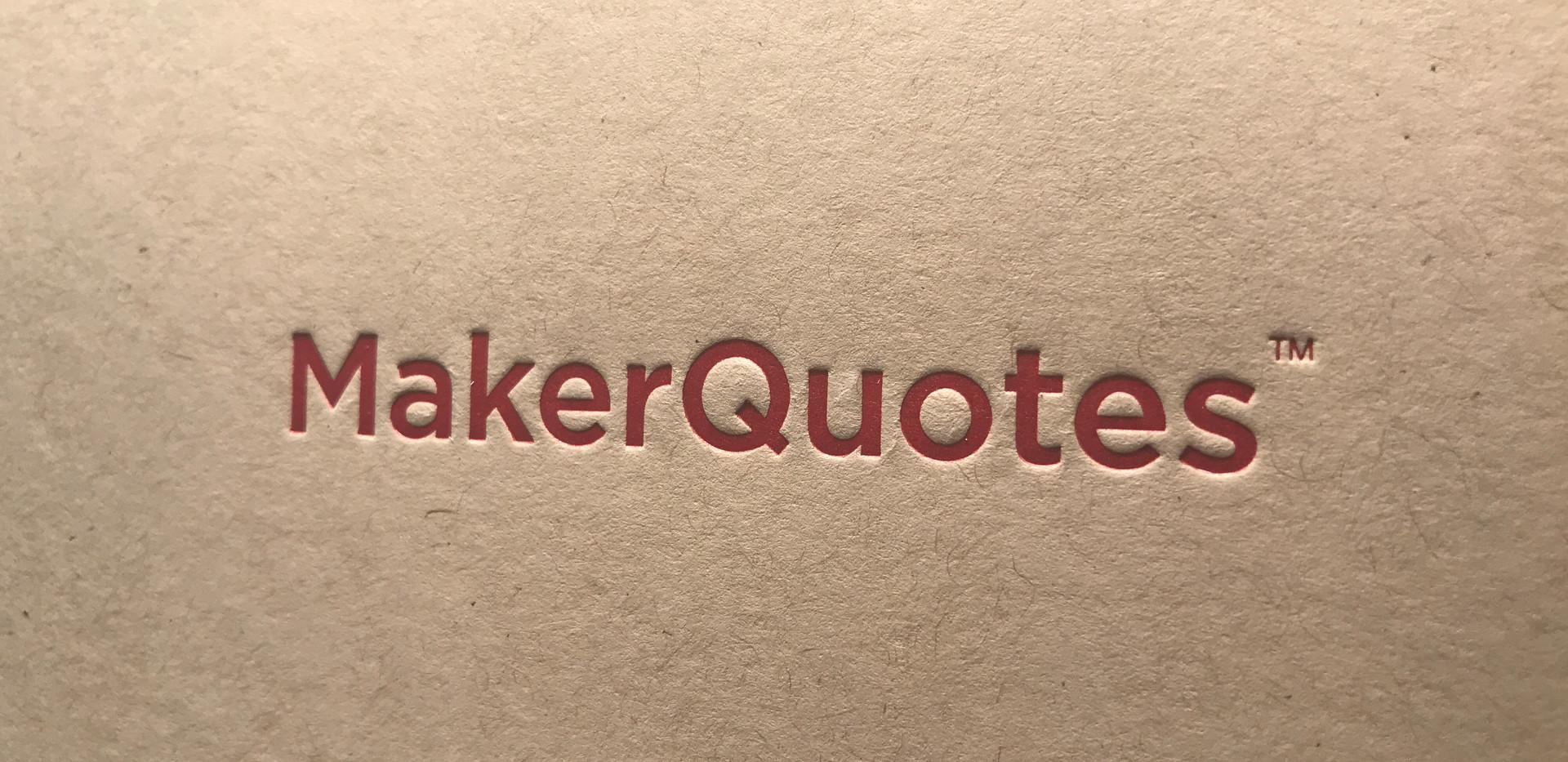 MakerQuotes Box