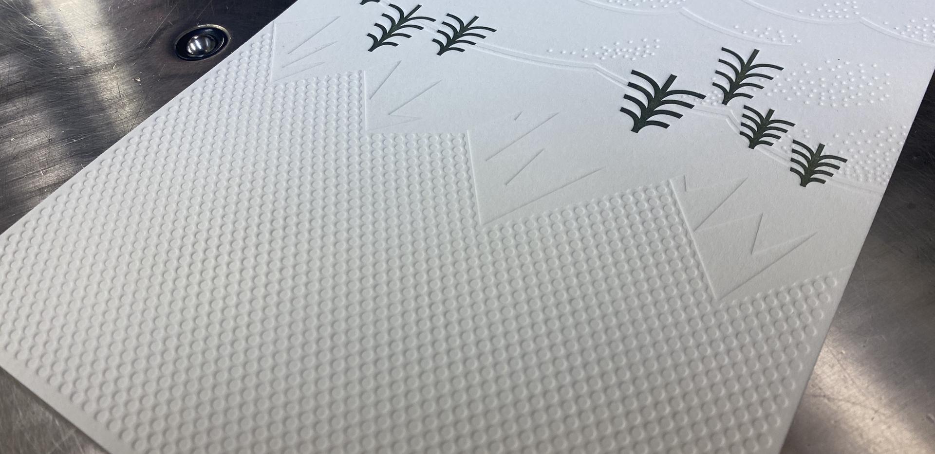 Letterpress Blind Deboss