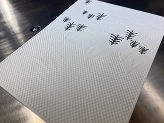 Letterpress Debossed Card