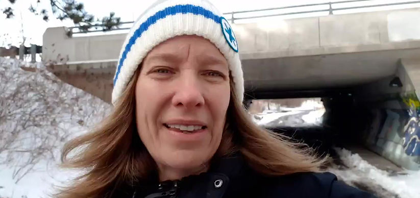 Executive Director Carol Reist asks for you to walk or donate.