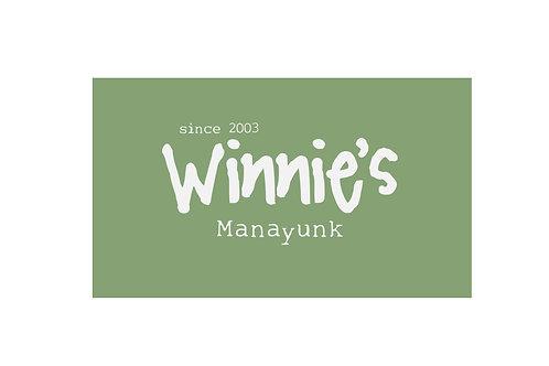 $25 Winnie's Gift Card