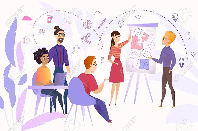 110532915-business-team-at-work-cartoon-
