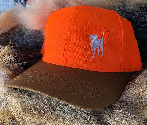 Orange Dog Shooter's Cap