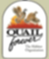 Quail Forever Habitat Organization Logo Button, Wotefowl Hunting
