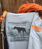 Orange Dog Merchandise, Bird Hunting