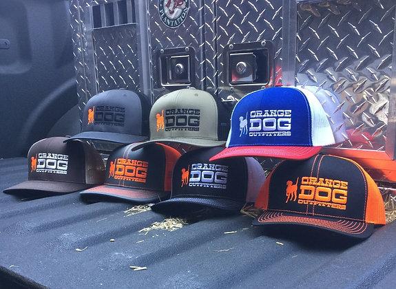 Orange Dog Trucker Cap