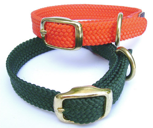 Mendota Puppy Double Braid Collar