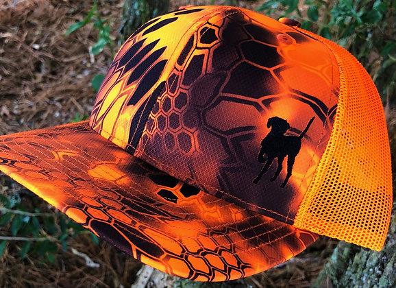Orange Dog Outfitters Kryptek Inferno Trucker Cap