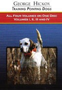 George Hickox Pointing Dog DVD Collection