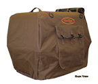 Brown Bedford Uninsulated Kennel Cover