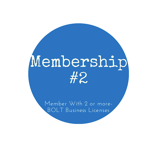Retail/merchant member (member with 2 or more BOLT business licenses)