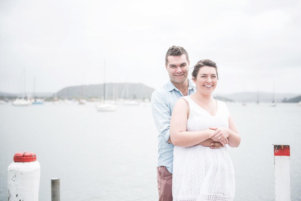Emma & Kurt somewhere on the Central Coast