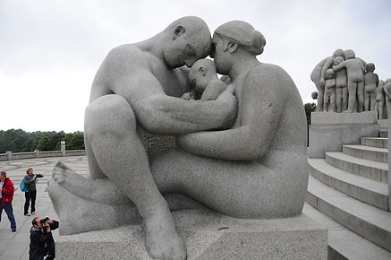 Vigeland Sculpture Park. Oslo, Norway